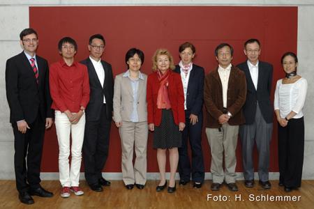 Japanische Wissenschaftsdelegation im SoVD