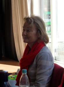 Gespräch in der Beratungsstelle der Diakonie für obdachlose Frauen in Bochum am 12.3.201