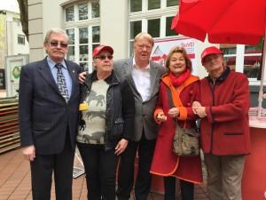 Frechen, 1. Mai 2015 Stand des Sozialverbandes Deutschland