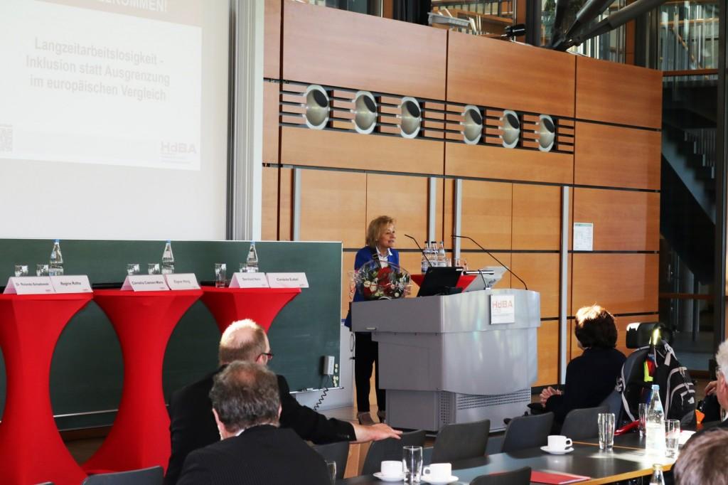 HdBA Fachtagung: Langzeitarbeitslosigkeit-Inklusion statt Ausgrenzung im europäischen Vergleich Schwerin, 10.April 2018